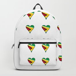 Flag of Guyana 2  -Guyanese,Guyanes,Georgetown,Linden,Waiwai Backpack