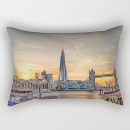 London Summer time Rectangular Pillow