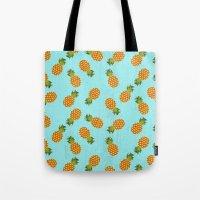 hawaii Tote Bags featuring Hawaii by Kakel