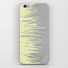 Concrete Fringe Yellow iPhone & iPod Skin