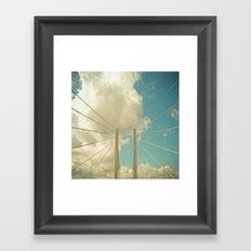 Over the Bridge Framed Art Print