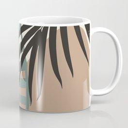 Minimal Jungle Leaves Finesse #1 #tropical #decor #art #society6 Coffee Mug