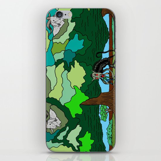 """Fade"" by Steven Fiche iPhone & iPod Skin"