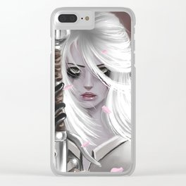 Ciri,The Witcher Clear iPhone Case