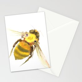 Bee, bee art, bee design Stationery Cards