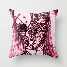 RED DEAD! Throw Pillow