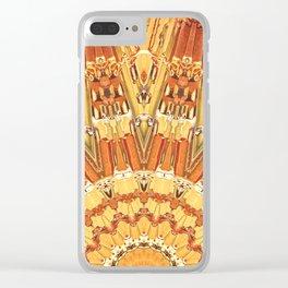Golden Sun Clear iPhone Case