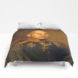 Sir Patrick Stewart - replaceface Comforters