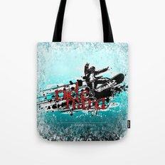 ride hard - snow Tote Bag