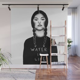 Water Is Life Wall Mural