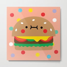 Burger Buddy Metal Print