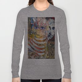 Enchanted Feline and Mona Long Sleeve T-shirt