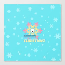 Fun snowflake 2 Canvas Print