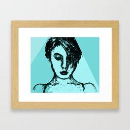 Lady Time Framed Art Print