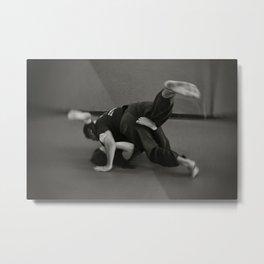 Jiu Jitsu Metal Print