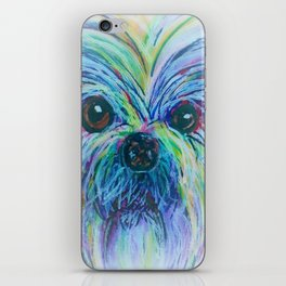 Shih Tzu Dreamy Focus iPhone Skin