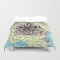 georgia Duvet Covers featuring Georgia by Ursula Rodgers