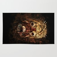 tomb raider Area & Throw Rugs featuring Tusken Raider by Sirenphotos