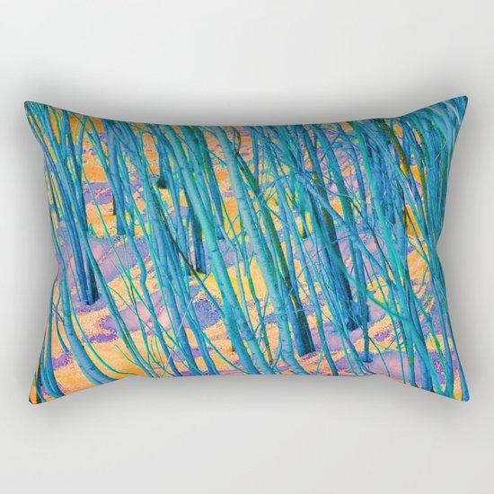 The Green Woods Rectangular Pillow
