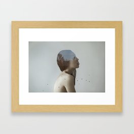 Being in nature Framed Art Print