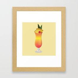 Sweet Mai Tai Framed Art Print