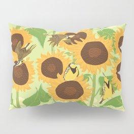 Sunbathing Meadowlarks Pillow Sham