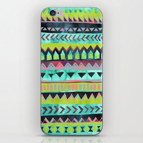 PATTERN {Tribal Stripe - Green} iPhone & iPod Skin