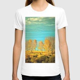 Ohrid Lake blue T-shirt