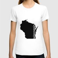 wisconsin T-shirts featuring Wisconsin by Isabel Moreno-Garcia