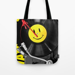 """""""Bloody Turntable"""" Watchmen fan art Tote Bag"""
