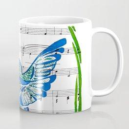 Carrier of Hope (Hummingbird and Wisteria) Coffee Mug