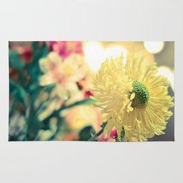 Flowery light Rug