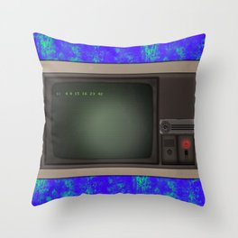 Lost Dharma Swan Station Computer  Throw Pillow