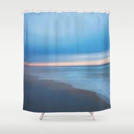 Painted Beach 2 Shower Curtain