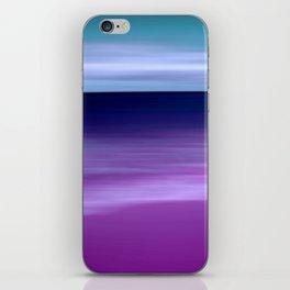 purple beach XI iPhone Skin