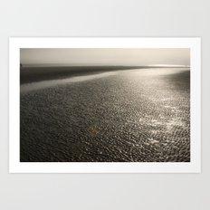 Sand Moguls Art Print