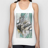 chandelier Tank Tops featuring Vintage Chandelier  by Jessica Rae Sommer