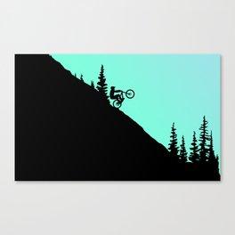 MTB 2colors Canvas Print