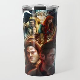 Family Don't End with Blood Travel Mug