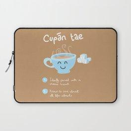 Cupan Tae Laptop Sleeve