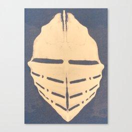 Trible Skull Mask Canvas Print