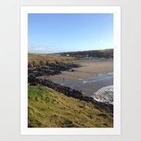 A Welsh Coast Art Print