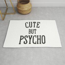 Cute But Psycho. Rug