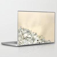 bones Laptop & iPad Skins featuring Bones by Jess Worby