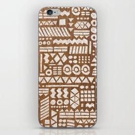 Northwoods Pattern. iPhone Skin
