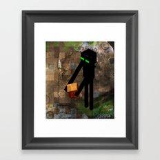 Enderman Framed Art Print
