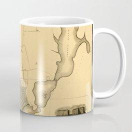 Map Of Providence 1823 Coffee Mug