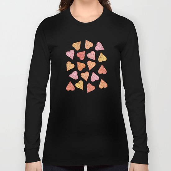 Love, hearts, cookies! Long Sleeve T-shirt