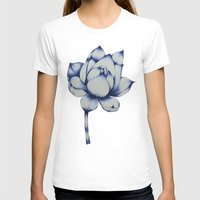 lotus flower T-shirts featuring Lotus by Lily Sayang