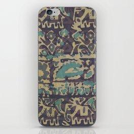 Elephant Batik iPhone Skin